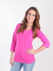 Dámské triko EBY růžové č.1