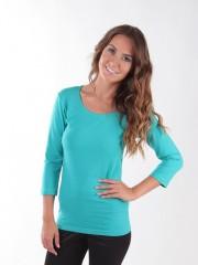 Dámské triko EBY smaragdové č.1