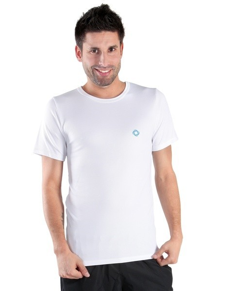 Pánské sportovní triko ATLET P bílé