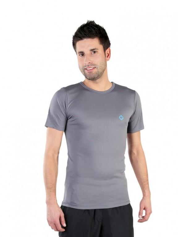 Pánské sportovní triko ATLET P šedé