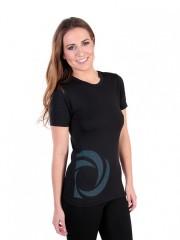 Dámské sportovní triko ATLET D černé č.1