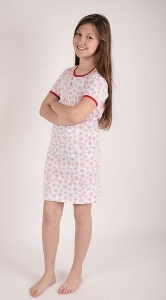 Dívčí noční košile P1415 květy