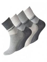 Pánské ponožky 2087 šedé č.1