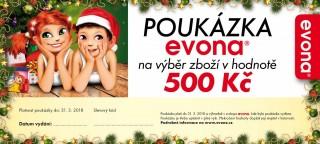 Vánoční poukázka 500 Kč