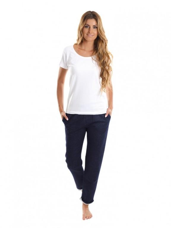 Dámské sportovní kalhoty PANTALON modrý jeans