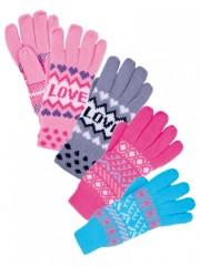 Dámské pletené rukavice č.1