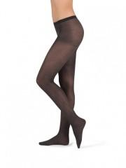 Módní punčochové kalhoty MELANGE 999 černé č.1