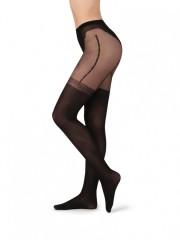 Punčochové kalhoty s imitací podvazků ELEN č.2