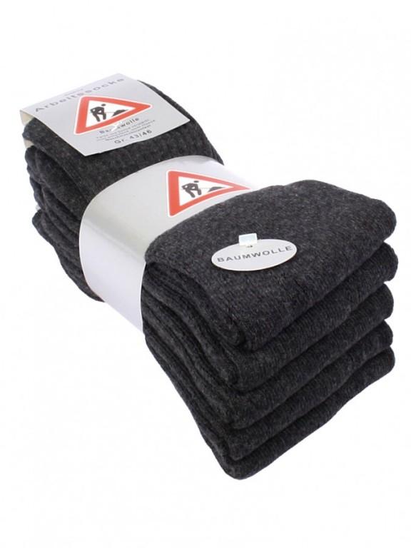 5 PACK pánských pracovních ponožek 2013