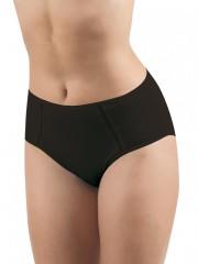 Dámské kalhotky pro plnoštíhlé ASTRA černé č.1
