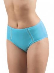 Dámské kalhotky pro plnoštíhlé ASTRA tyrkysové č.1