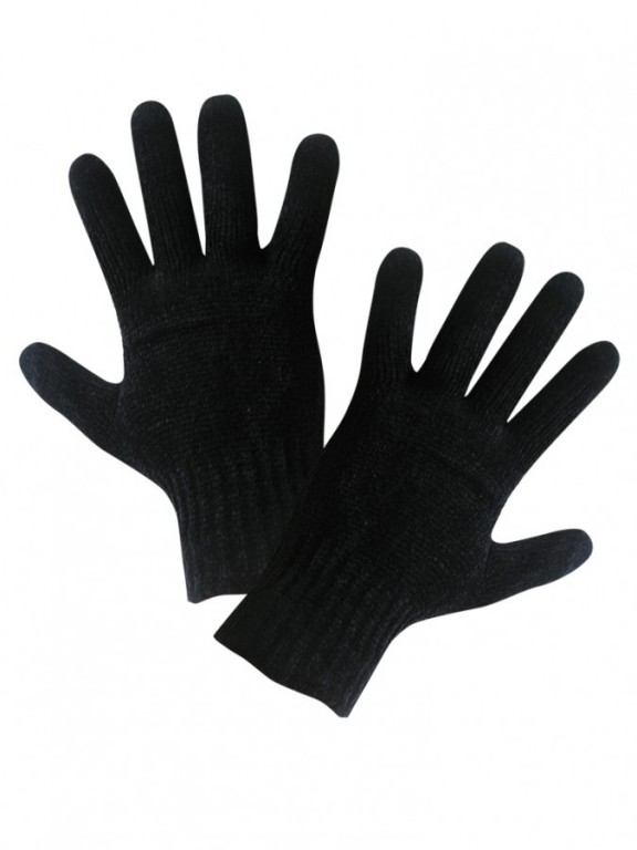 Dámské žinylkové rukavice