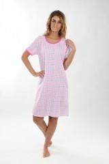 Dámská noční košile P1411 růžovo-fialová č.1