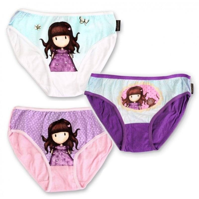3 PACK dívčích kalhotek SANTORO LONDON GORJUSS  e56250dc3a