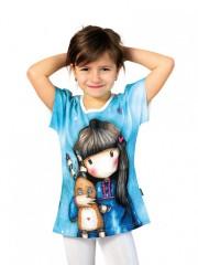 Dívčí tričko GORJUSS modré č.1