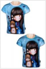 Dívčí tričko GORJUSS modré č.2