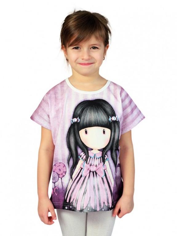 Dívčí tričko GORJUSS fialové