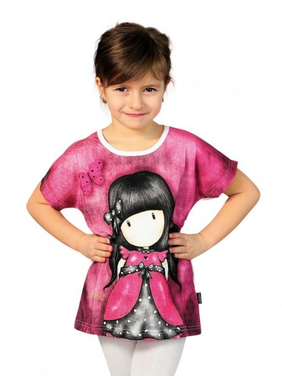Dívčí tričko GORJUSS růžové