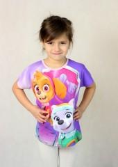 Dívčí tričko PAW PATROL č.2