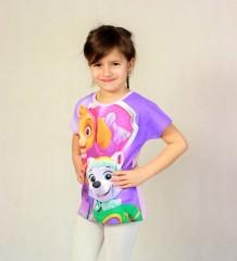 Dívčí tričko PAW PATROL č.3