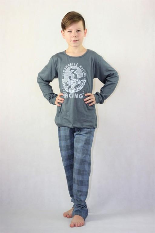 Chlapecké dlouhé pyžamo OLDSMOBILE šedé