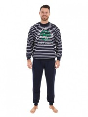 Pánské dlouhé pyžamo TEAM č.1