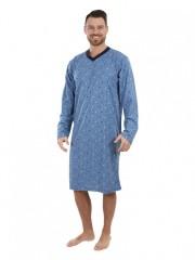 Pánská noční košile P1408 modrá č.1