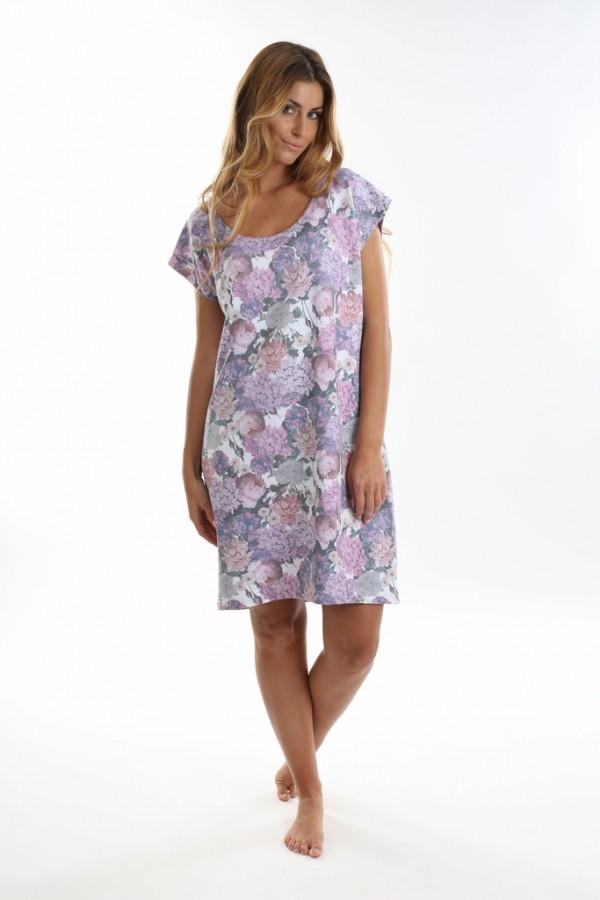 7953697f6 Dámské krátké šaty ALHAMBRA květy | EVONA