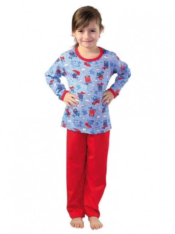Dívčí pyžamo P 1413 bubáci