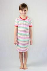 Dívčí noční košile P1415 proužky č.2
