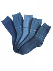 5 PACK dámských vzorovaných ponožek 5025 č.2