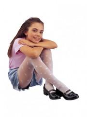 Dívčí punčochové kalhoty MIKI 111 bílé č.2