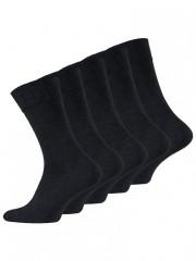 5 PACK pánských ponožek KOMFORT č.1