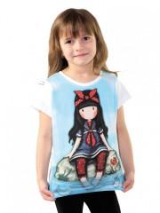 Dívčí tričko GORJUSS světle modré č.1