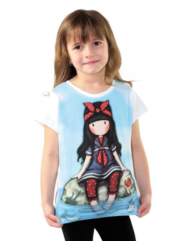 Dívčí tričko GORJUSS světle modré