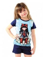 Dívčí tričko GORJUSS světle modré č.2