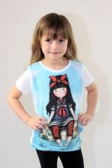 Dívčí tričko GORJUSS světle modré č.3