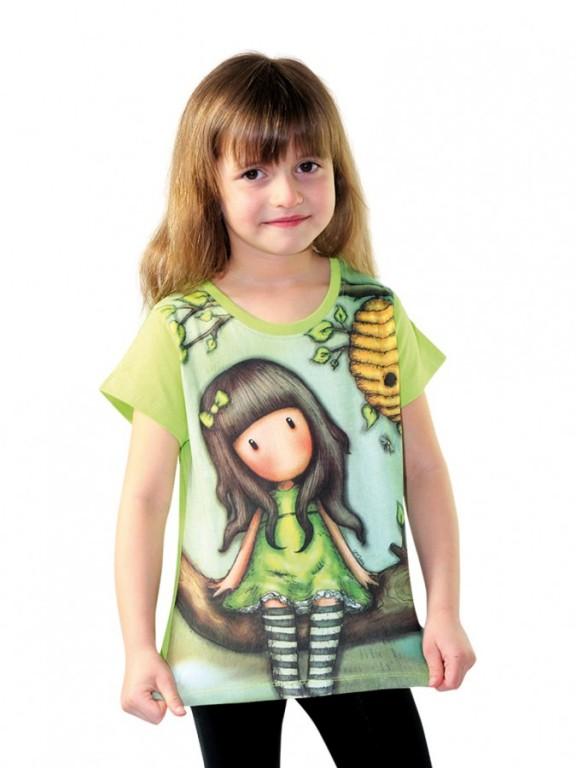 Dívčí tričko GORJUSS zelené