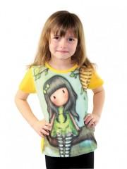 Dívčí tričko GORJUSS zelené č.2