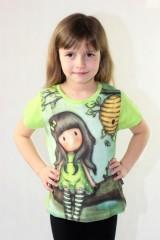 Dívčí tričko GORJUSS zelené č.3