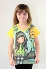 Dívčí tričko GORJUSS zelené č.4
