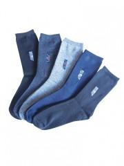 5 PACK dámských vzorovaných ponožek 028 č.2