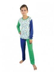 Dětské pyžamo JOKER zelené č.1