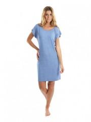 Dámské krátké šaty JEANS světlé č.1
