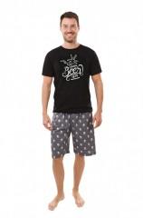 Pánské krátké pyžamo BEER č.1