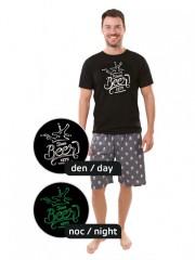 Pánské krátké pyžamo BEER č.4