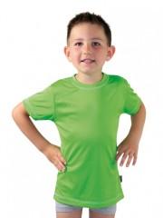 Dětské sportovní triko KOLO zelené č.1