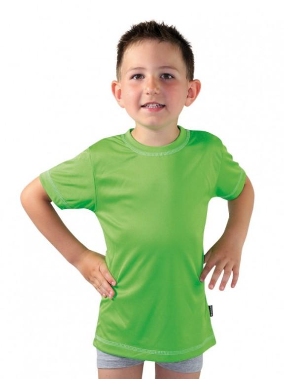Dětské sportovní triko KOLO zelené