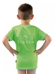 Dětské sportovní triko KOLO zelené č.2