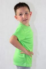 Dětské sportovní triko KOLO zelené č.3